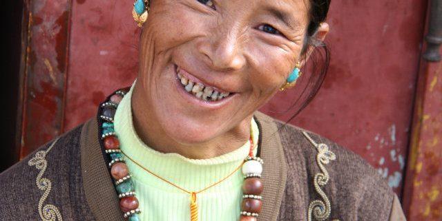 tibet-lady