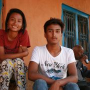 Teenagers of KOTH GAUN, Nepal