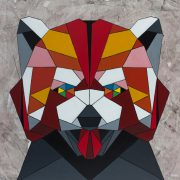 mosaic panda